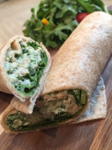 Chicken and Arugula Wrap 02
