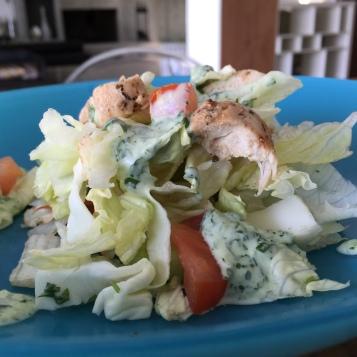 Medi Spicy Chicken salad 02